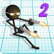 Gun Fu: Stickman 2 (MOD, unlimited money)