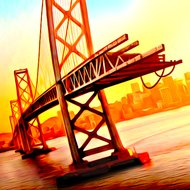 Bridge Construction Simulator (MOD, Unlimited Hints) - download free apk mod for Android
