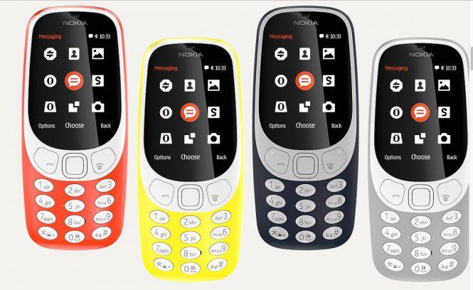 Обновленная Нокиа 3310 получит Андроид
