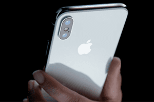 After what time the screen iPhone X burns out
