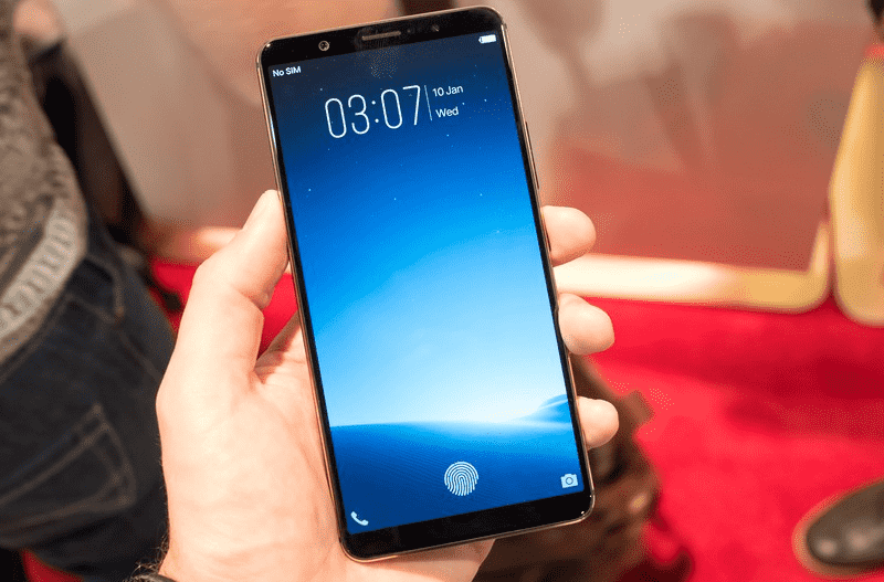 Vivo представил смартфон с дактилоскопическим сканером под экраном