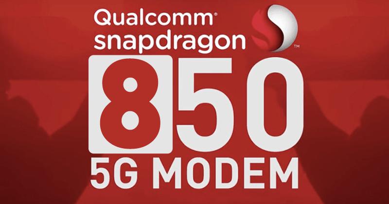 Qualcomm Snapdragon 850 первым будет поддерживать 5G