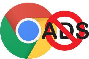 Google Chrome began blocking advertising