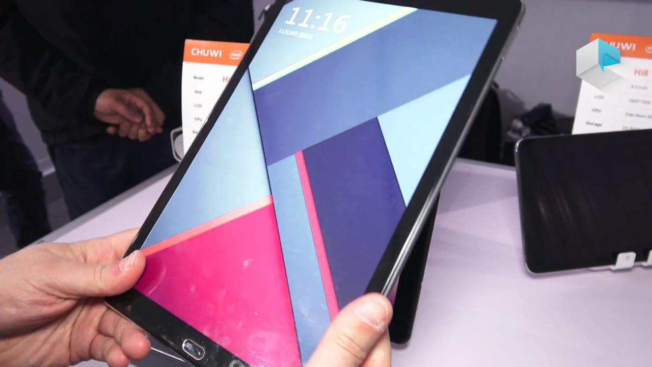 Chuwi выпустил на рынок мощный и недорогой игровой планшет