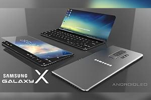 Первый складной смартфон от Samsung