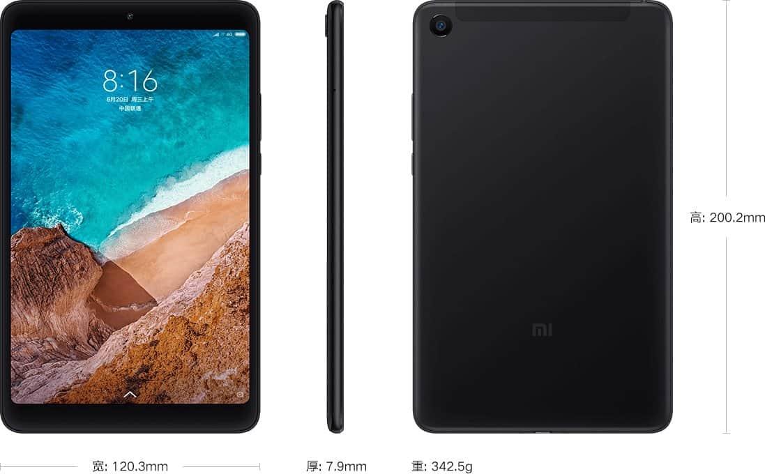 Характеристики и стоимость Xiaomi Mi Pad 4