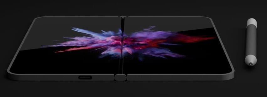 Microsoft готовится анонсировать складной смартфон Surface Phone