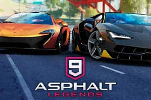Asphalt 9 became available on Windows