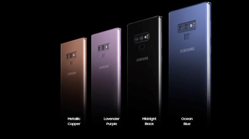 Представлен флагманский Galaxy Note9