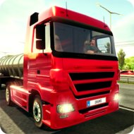 Download Truck Simulator 2018: Europe (MOD, Unlimited Money) free on android