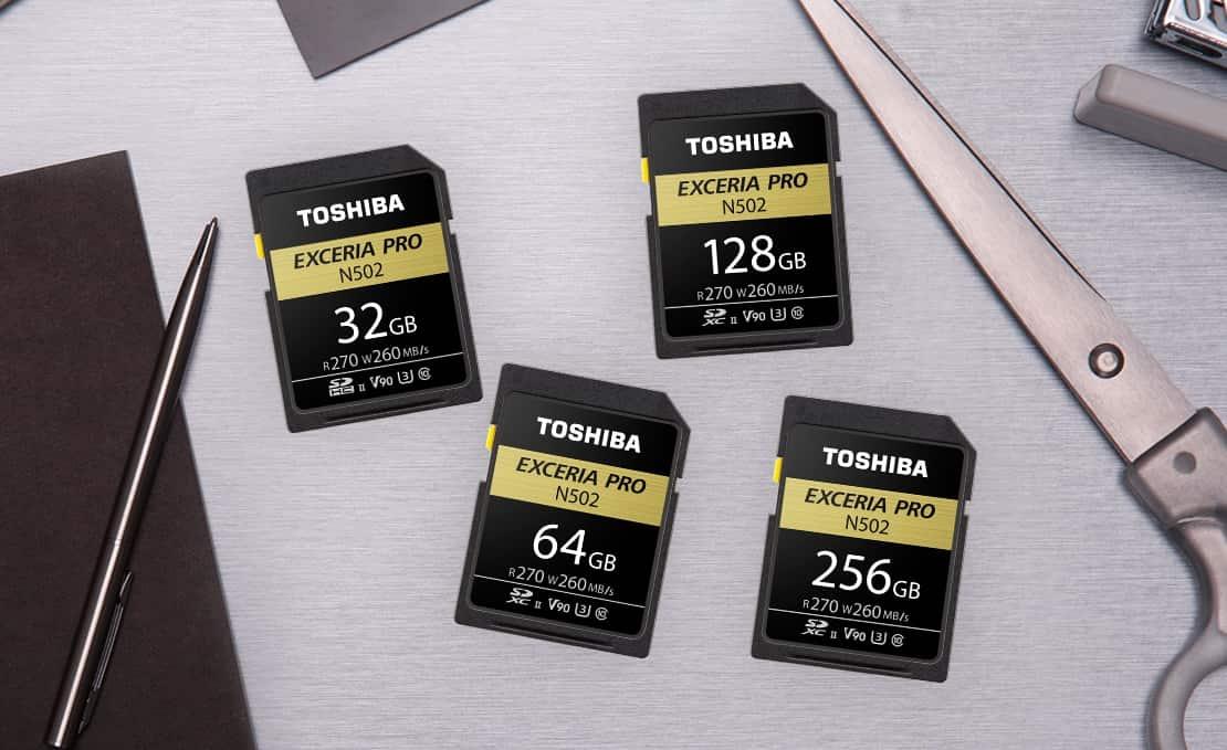 Toshiba выпустила высокоскоростные «неубиваемые» SD-карты