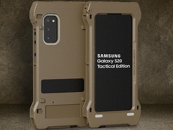 Samsung создала специальную версию Galaxy S20 для нужд американской армии