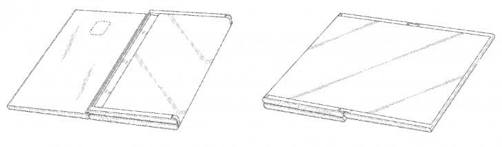Samsung received a patent for a folding tablet