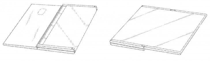 Samsung получил патент на оригинальный складной планшет