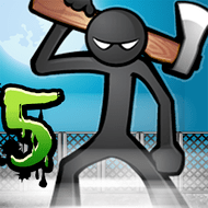 Anger of Stick 5: Zombie (MOD, много денег)