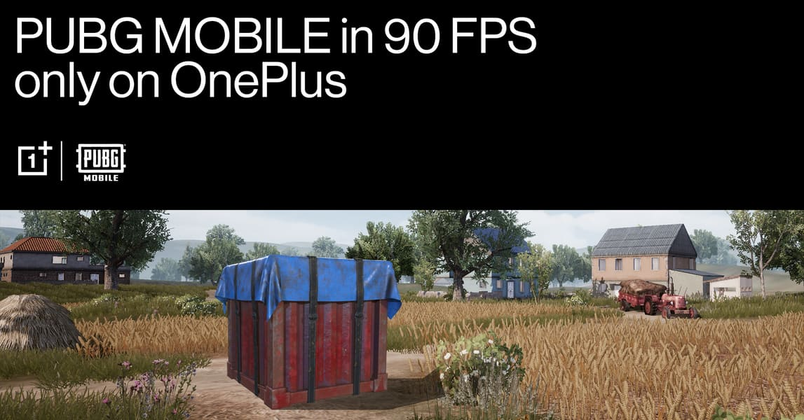 Four OnePlus smartphones are now able to play PUBG Mobile at 90 fps