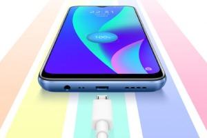 Realme представила смартфон с аккумулятором на 6000 мАч